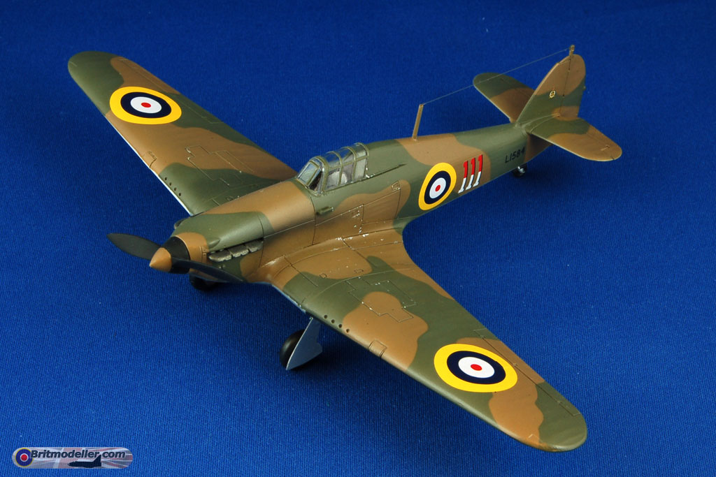 New Airfix Hurricane Mk I OOB build - Ready for Inspection
